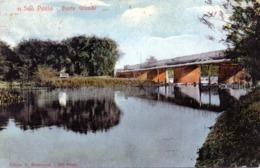 CPA -  SAO PAULO  (Brésil)  Ponte Grande - 1910 - Destinataire :  Mr Houeix De La Brousse à PARIS - São Paulo