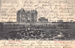 België West-Vlaanderen De Haan   Hôtel Des Familles   M 570 - De Haan