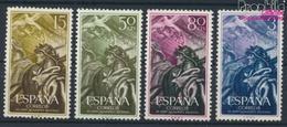 Spanien 1084-1087 (kompl.Ausg.) Postfrisch 1956 Nationale Erhebung (9360085 - 1931-Heute: 2. Rep. - ... Juan Carlos I