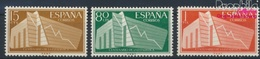 Spanien 1093-1095 (kompl.Ausg.) Postfrisch 1956 Statistik (9360089 - 1931-Heute: 2. Rep. - ... Juan Carlos I
