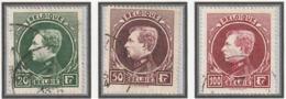 COB N° 209A 291A 292A / Oblitérés - 1929-1941 Grand Montenez