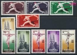 Spanien 1177-1186 (kompl.Ausg.) Postfrisch 1960 CIF `60 (9368671 - 1931-Heute: 2. Rep. - ... Juan Carlos I