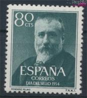 Spanien 1038 (kompl.Ausg.) Postfrisch 1954 Tag Der Briefmarke (9360075 - 1931-Heute: 2. Rep. - ... Juan Carlos I