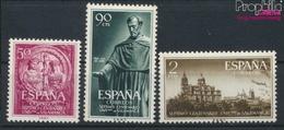 Spanien 1021-1023 (kompl.Ausg.) Postfrisch 1953 Uni Salamanca (9368680 - 1931-Heute: 2. Rep. - ... Juan Carlos I
