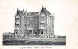 België West-Vlaanderen De Haan   Hôtel Des Familles   M 572 - De Haan