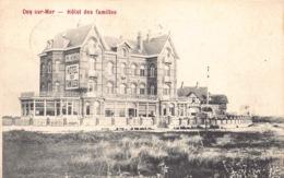 België West-Vlaanderen De Haan   Hôtel Des Familles   M 574 - De Haan