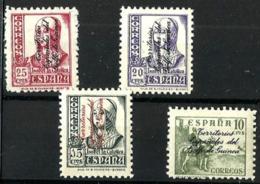 Guinea Española Nº 256/59 En Nuevo - Guinée Espagnole
