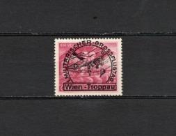 1945 Österreich Flugpost Wien-Troppau Postfrisch - Luchtpost