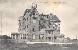 België West-Vlaanderen De Haan   Hôtel Des Familles   M 578 - De Haan