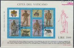 Vatikanstadt Block9 (kompl.Ausgabe) Gestempelt 1987 Olymphilex (9361594 - Vaticano (Ciudad Del)