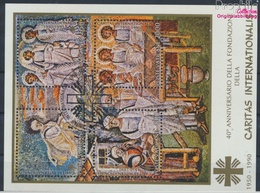 Vatikanstadt Block12 (kompl.Ausgabe) Gestempelt 1990 Caritas (9361613 - Vaticano (Ciudad Del)