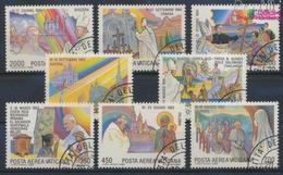 Vatikanstadt 899-906 (kompl.Ausgabe) Gestempelt 1986 Papstreisen (9361589 - Vatikan