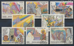 Vatikanstadt 899-906 (kompl.Ausgabe) Gestempelt 1986 Papstreisen (9361589 - Vaticano (Ciudad Del)