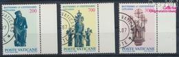 Vatikanstadt 913-915 (kompl.Ausgabe) Gestempelt 1987 Christianisierung Litauens (9361592 - Vatikan