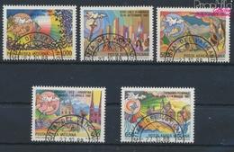 Vatikanstadt 952-956 (kompl.Ausgabe) Gestempelt 1988 Papstreisen (9361602 - Vatikan