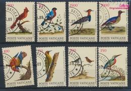Vatikanstadt 976-983 (kompl.Ausgabe) Gestempelt 1989 Vögel (9361606 - Vatikan