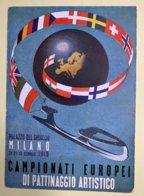 9117 -  Championnat D'Europe De Patinage Artistique Milan 1949 - Patinage Artistique