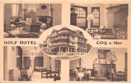 België West-Vlaanderen De Haan  Golf Hotel Restaurant Koninklijke Baan    M 596 - De Haan