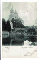 CPA-Carte Postale-Belgique-Durbuy -Le Pont Et Le Château VM8659 - Durbuy