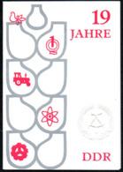 C9450 - Ilmenau Kulturhaus - DDR Jubiläum- Propaganda Programm Eintrittskarte 1968 - Ereignisse