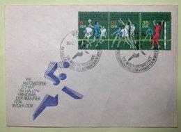 9120 -  DDR VIII Weltmeisterschaft Im Hallen-Handball Der Männer 1974 Berlin 26.02.1974 - Hand-Ball