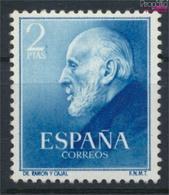 Spanien 1012 (kompl.Ausg.) Postfrisch 1952 Cajal (9368682 - 1931-Heute: 2. Rep. - ... Juan Carlos I