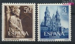 Spanien 1025-1026 (kompl.Ausg.) Postfrisch 1954 Heiliges Jahr (9368679 - 1931-Heute: 2. Rep. - ... Juan Carlos I