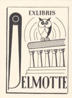 EX-LIBRIS  DELMOTTE - Ex Libris