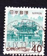 Japan - Yomei-Tor An Den Mausoleen Der Tokugawa Shogune, Nikko (MiNr: 995) 1968 - Gest Used Obl - 1926-89 Imperatore Hirohito (Periodo Showa)