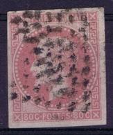 France: Napoleon III Lauré, Yv 10 Obl./Gestempelt/used - Napoleon III