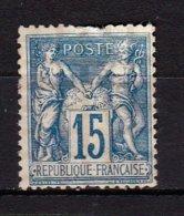 Type Sage  N° 101 Et 102 15 Et 5 C Bleu Et Vert Jaune (II) N Sous B - 1876-1878 Sage (Type I)