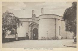 Nottingham - The Castle Entrance - Nottingham