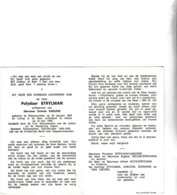 RIJKSWACHTER P.STRYLMAN °WAASMUNSTER 1897 +AALTER 1969 (C.GAELENS) - Images Religieuses
