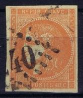 France: Bordeaux 48 Obl./Gestempelt/used   Signiert /signed/ Signé   Calves - 1870 Uitgave Van Bordeaux
