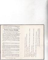 RIJKSWACHTER Brigadebevelhebber  ASSE °ZILLEBEKE 1890 + 1956 (M.ACKERMANS)G.ROBBE - Images Religieuses