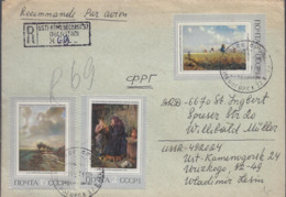 AK-div.29- 577 - Misch- Frankatur - Einschreiben - Nach St. Ingbert Saar - Other