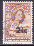 1961 BECHUANALAND Protectorate SG 159 2½c On 2d Used - Bechuanaland (...-1966)