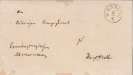 Allemagne Lettre NIENBURG 9/9/1848 Avec Correspondance - Allemagne
