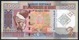 GUINEA P44 5000 FRANCS 2010 #KG  UNC. - Guinee