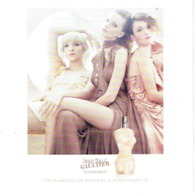 """Carte à Rabat 5 X 5 Jean-Paul GAULTIER  """"LE MALE""""  & """"CLASSIQUE"""" - Perfume Card USA - Cartes Parfumées"""