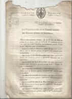 JC , Trésorerie Nationale, AN 7, 1798, Liste Des Signatures Des Bons Au Porteur De 20 Francs , Frais Fr 1.95 E - Décrets & Lois