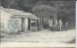 Poste De Douaniers Français à L'Extreme Frontiere Belge. - Dogana