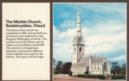 Postcard The Marble Church Bodelwyddan Clwyd  My Ref  B13754 - Denbighshire