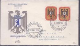 AK-div.29- 584 - Deutscher Bundesrat In Berlin  - Sonderwertzeichen  SSTpl. 1956 - Berlin (West)