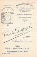 1896 ARCACHON Charles Despujols Ostréiculteur - Publicités