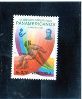 1983 Venezuela - IX Giochi Sportivi Panamericani - Caracas - Scherma