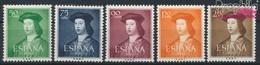 Spanien 1003-1007 (kompl.Ausg.) Postfrisch 1951 König Ferdinand (9368684 - 1931-Heute: 2. Rep. - ... Juan Carlos I