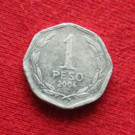 Chile 1 Peso 2006 KM# 231 Lt 393 Chili - Chili