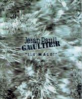 """Jolie Carte Hologramme NOEL 2004- Jean-Paul GAULTIER  """"LE MALE"""" - Duftkarten"""