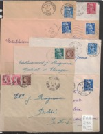 14 Enveloppes Issues De La Région Picardie - 1921-1960: Modern Period